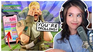 Trolling Random Duos with a Pokimane Soundboard?! Fortnite Duo Fill!