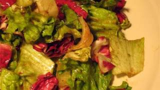 "Three Color Salad W/ Balsamic Vinaigrette Recipe - Laura Vitale ""laura In The Kitchen"" Episode 11"