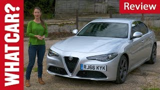 2018 Alfa Romeo Giulia review – better than a BMW 3 Series? | What Car?
