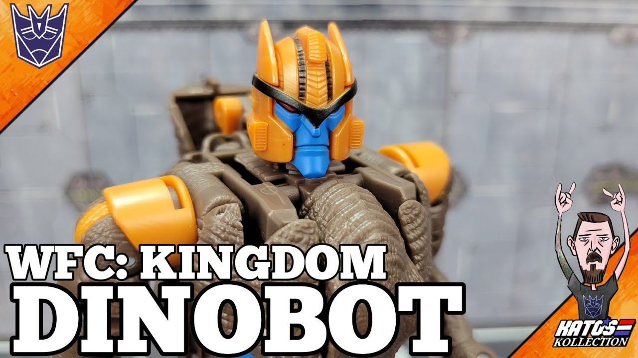 Transformers WFC: KINGDOM Dinobot Review by Kato's Kollection