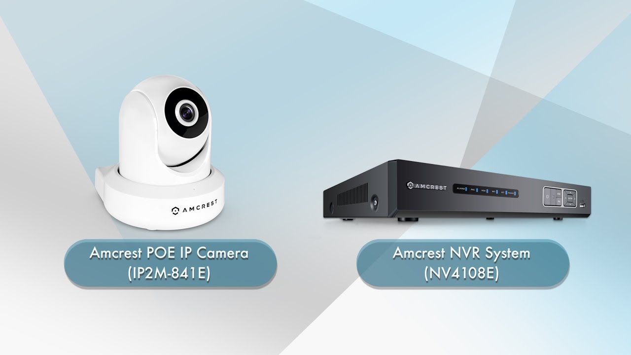 Amcrest NVR - How to Upgrade PoE IP Camera Firmware (NV4108E)