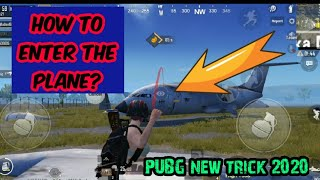How to enter the plane in PUBG mobile 2020 at military base || NEW TRICK 2020 || unknownbattleking
