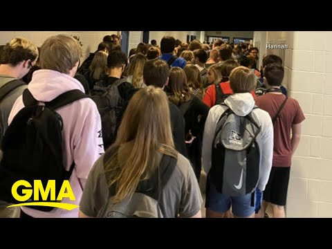 Student suspended after showing fellow students without masks l GMA