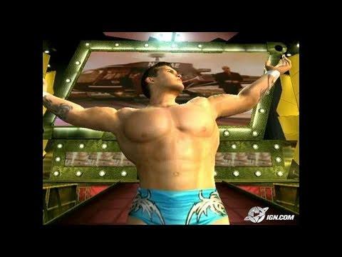 WWE Day of Reckoning GameCube Gameplay - Randy Orton ring