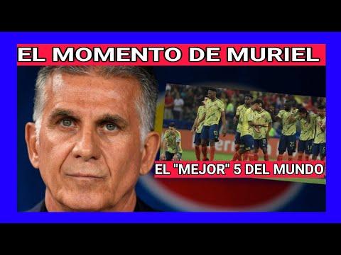 COLOMBIA vs BRASIL 2-2 figura MURIEL y CUADRADO: Atajada de OSPINA: QUEIROZ elogia a WILMAR BARRIOS
