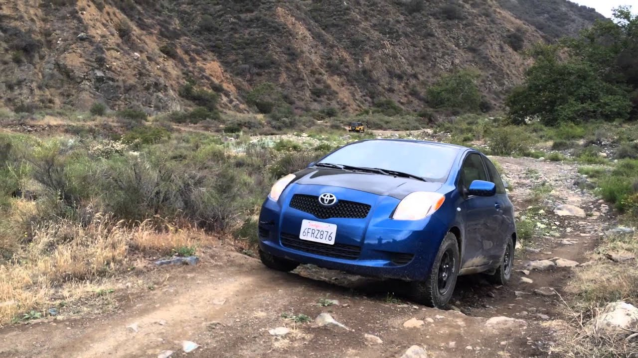 Off road Yaris - Initial Outing pt1 - YouTube