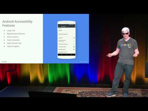 GTAC 2015: Automated Accessibility Testing for Android Applications
