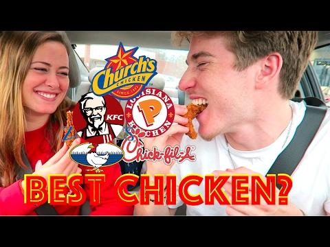 Which Fast Food Restaurant Has The Best Chicken?   TASTE TEST. (yummy review)