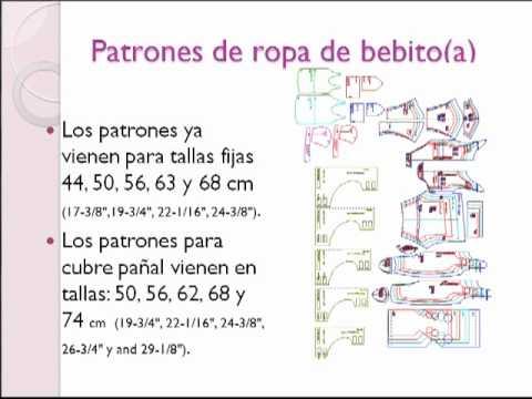 308b59a48 Cómo hacer ropita para recién nacido en http   Patronesderopa.com - YouTube