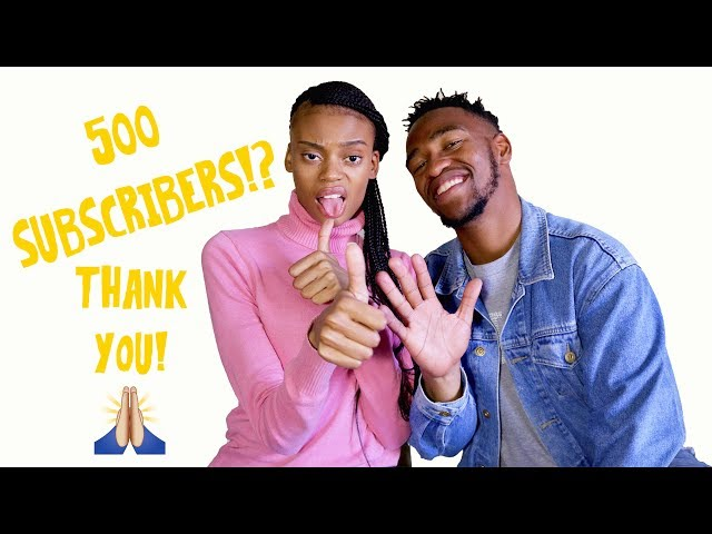 500 Subscribers!? Thank You!