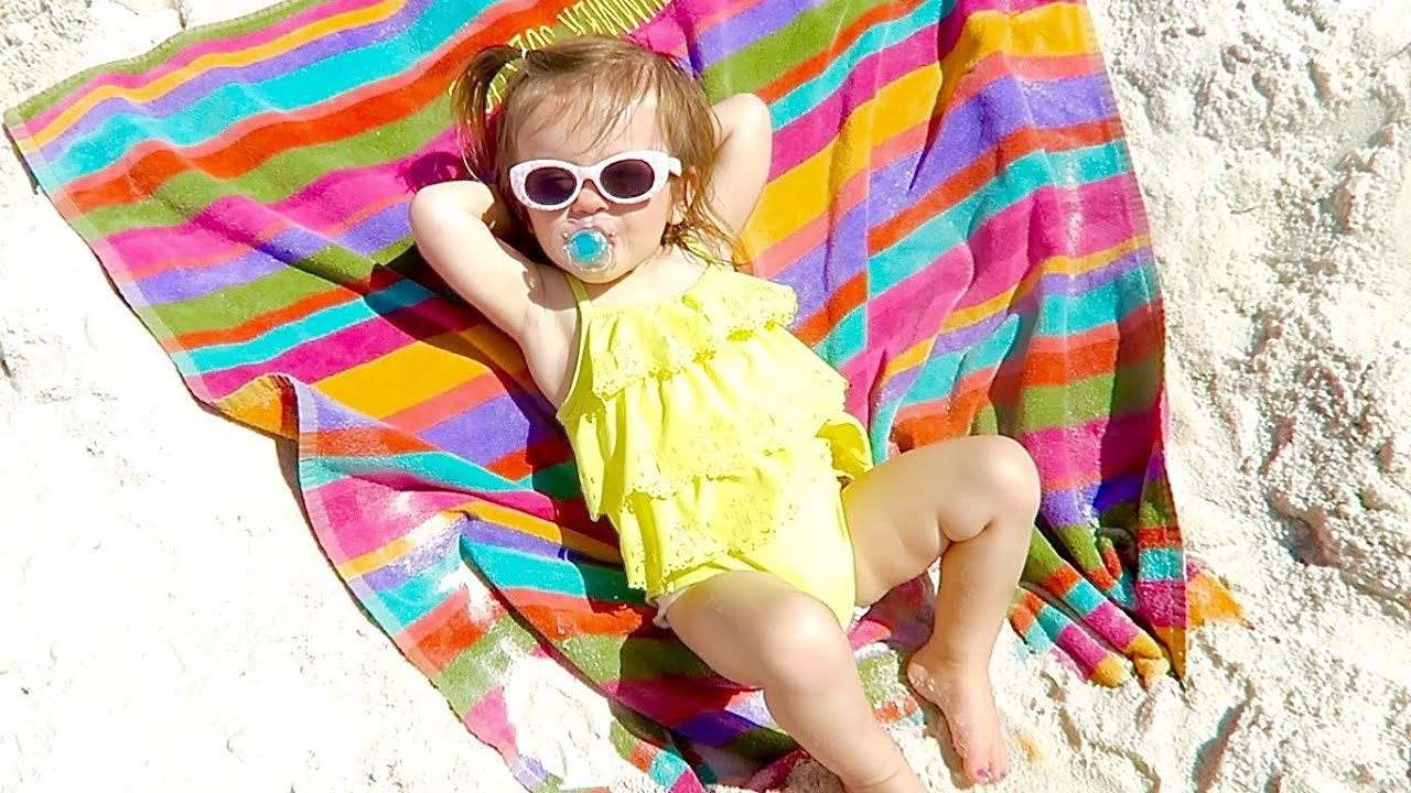 Image result for baby sunbathing
