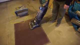 Commercial Carpet - Using the Pile Vac vs. Vacuum