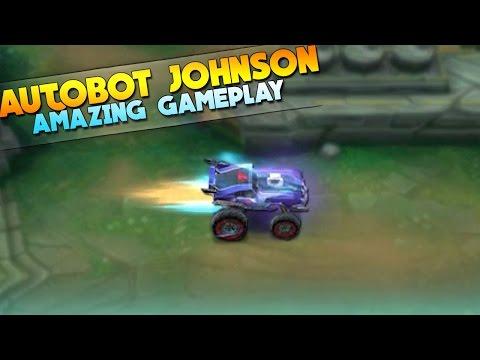Mobile Legends Autobot Johnson INSANE GAMEPLAY!