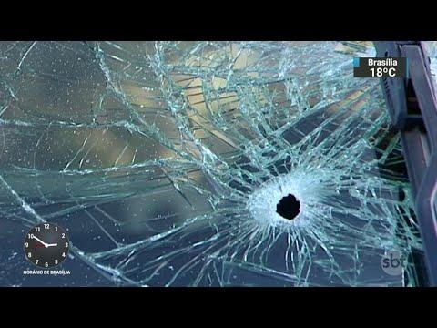 PM tenta defender amigo, reage a assalto e acaba morto | SBT Notícias (26/04/18)