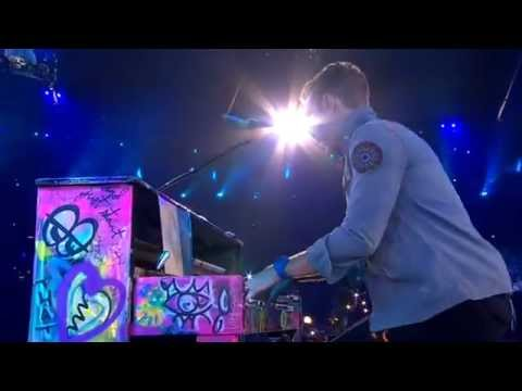 HD  COLDPLAY  THE SCIENTIST  CLOSING CEREMONY PARALYMPIC GAMES LONDON 2012   09092012