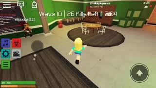 Playing Roblox with my sister in brother😁