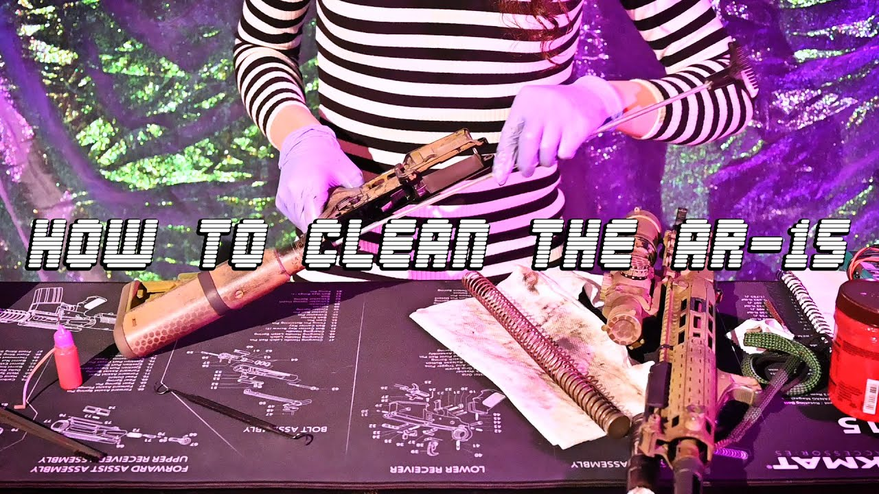 How to Clean the AR-15