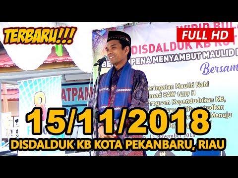 Ceramah Terbaru Ustadz Abdul Somad Lc, MA - Disdalduk KB Kota Pekabaru