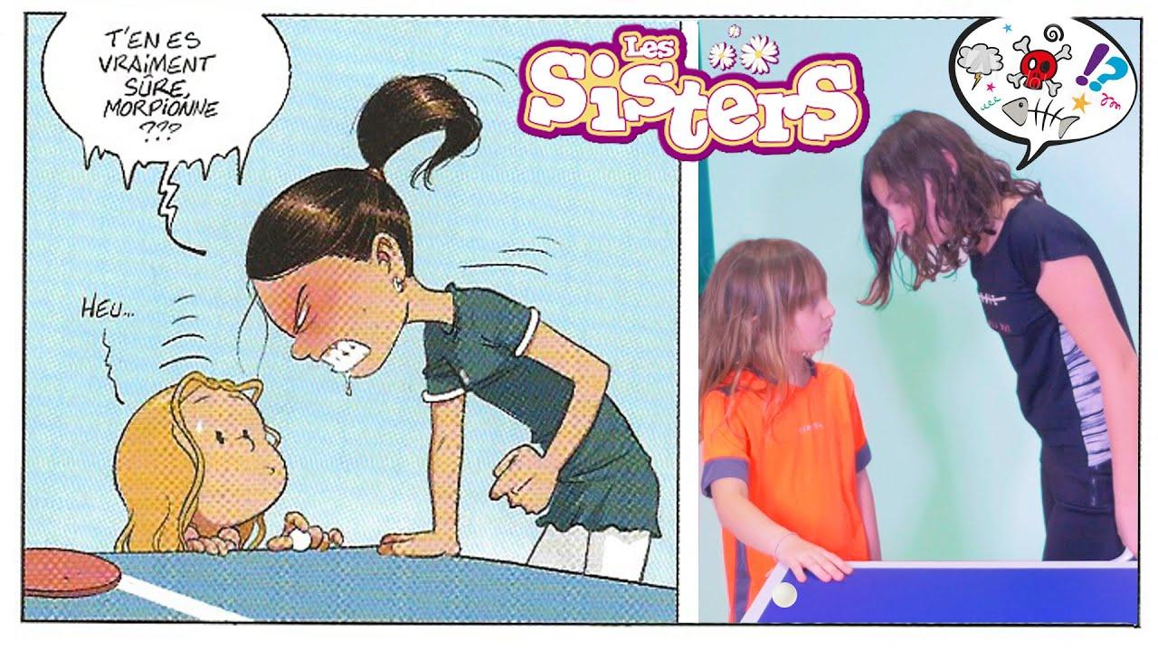 SISTERS STORY • TOUT POUR LUI PLAIRE ! - LES SISTERS court-métrage BD