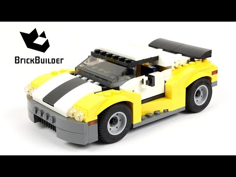 Lego Creator 31046 Fast Car - Lego Speed Build