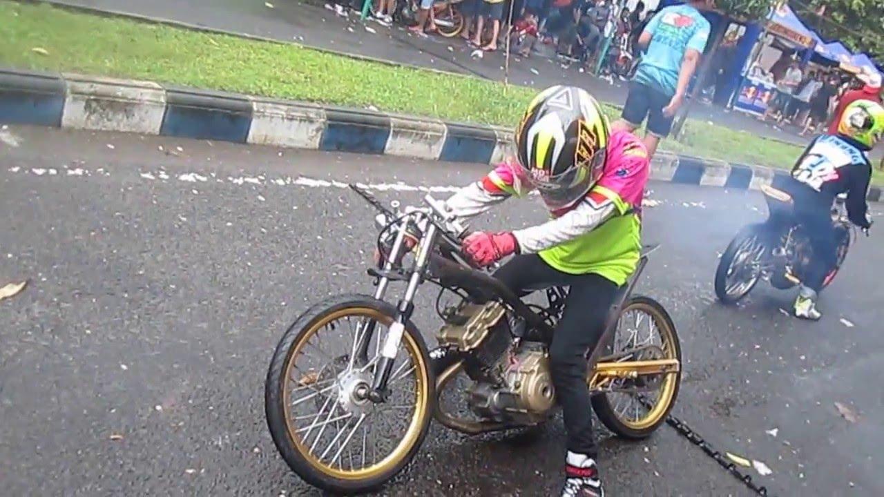 Setting Fu 200 Drag Bike Indonesia Youtube Drag Bike Satria Fu 200cc