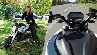 Zero SR Elektro-Motorrad im Test | CHIP