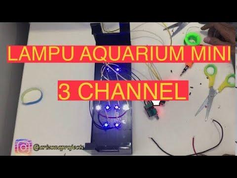 bikin-lampu-aquarium-mini-3-channel