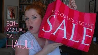 Victoria's Secret Haul ❤ Semi-Annual Sale June 2014 Thumbnail