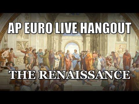 AP Euro Renaissance Review Q&A (Live Hangout)