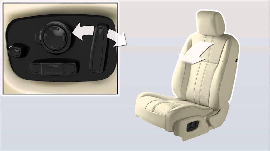 Jaguar Xj Adjusting Seats Steering Wheel And Exterior