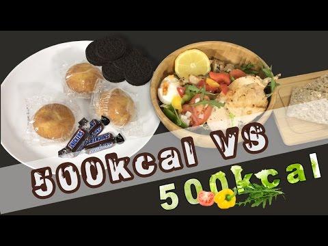 Cómo ADELGAZAR COMIENDO MÁS 500 calorías