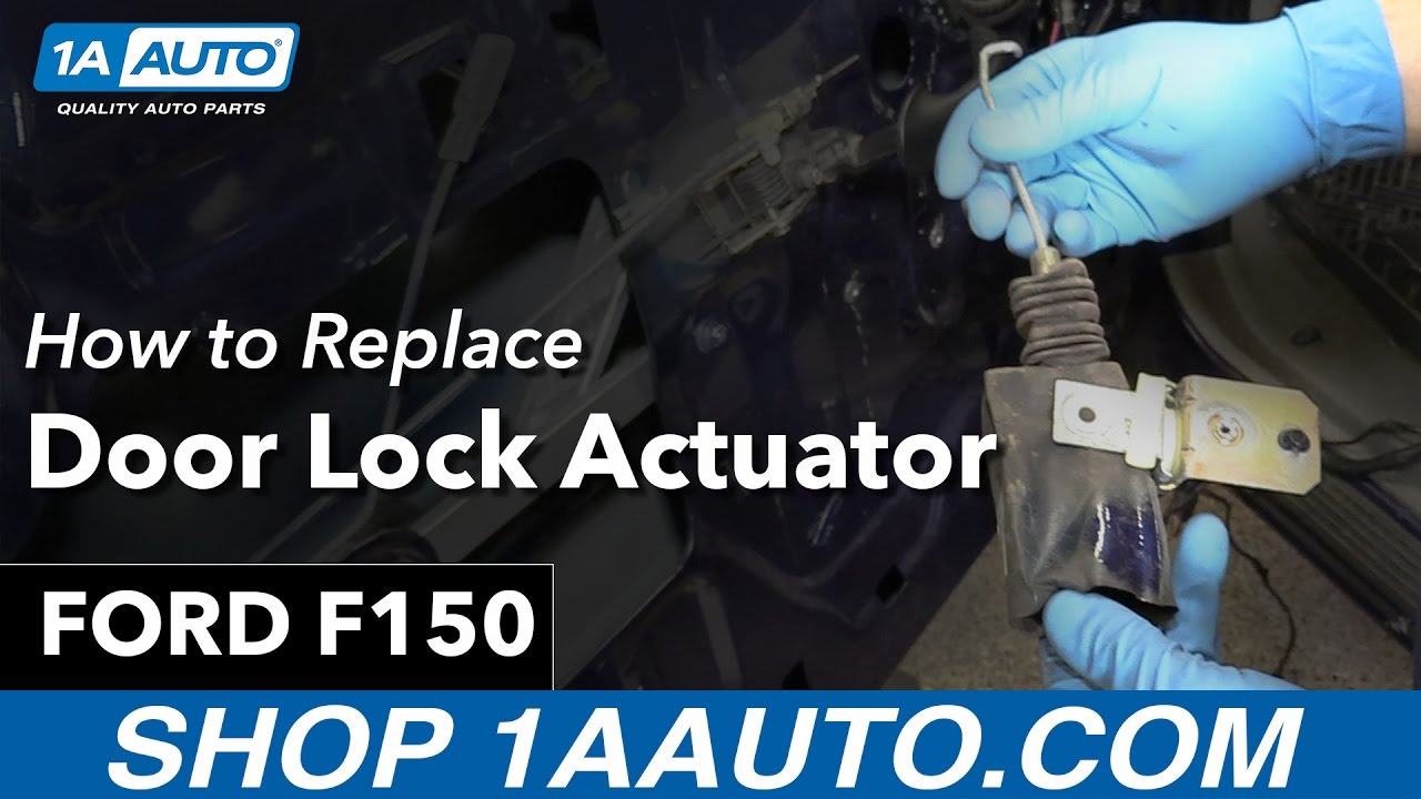 How To Replace Door Lock Actuator 97 04 Ford F 150 Youtube