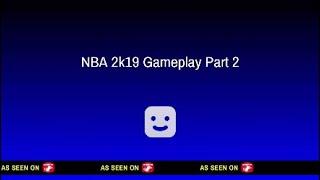 NBA 2k19 Golden State Warriors Vs Los Angeles Lakers - Full second half