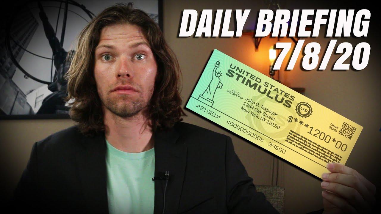 $1200 Second Stimulus Check - Wonderful News & Stimulus Package Updates