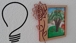 Scroll Saw Picture Frame
