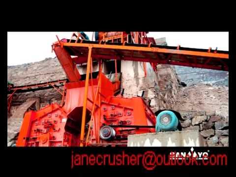 Sandstone impact sand making machine in Bolivia