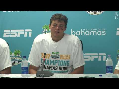 2017 Bahamas Bowl Post Game Interview Ohio