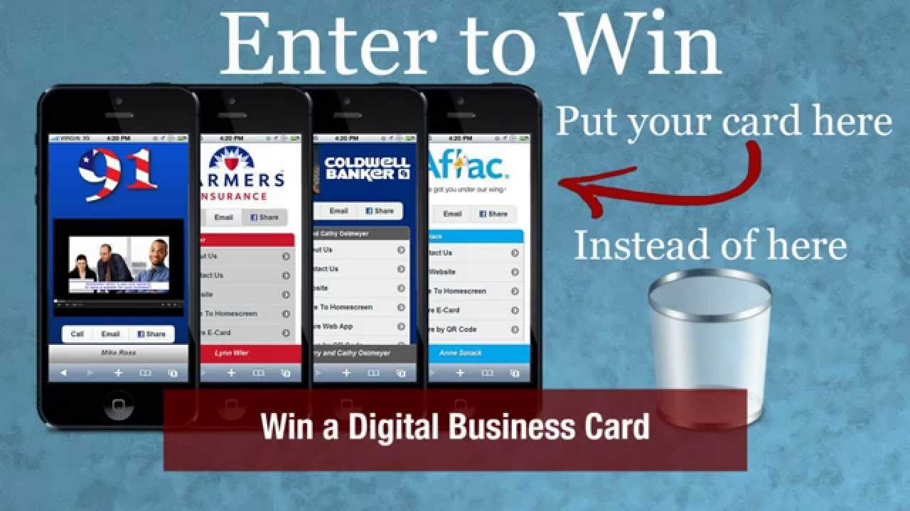 Dallas small business expo enter to win a digital business card dallas small business expo enter to win a digital business card reheart Image collections