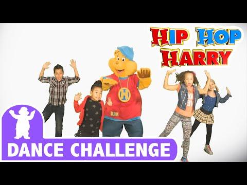 The Hip Hop Harry Dance Challenge | Dance Challenge | From Hip Hop Harry