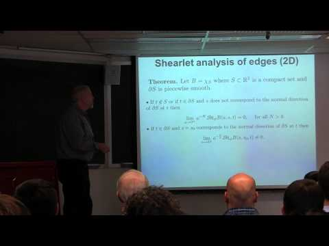 Demetrio Labate - February Fourier Talks 2015 - Directional multiscale representations