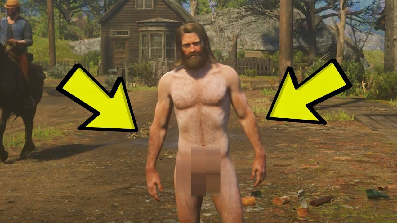How To Get NAKED In Red Dead Redemption 2 (GLITCH TUTORIAL)