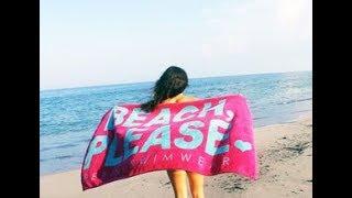 "【DIY】この夏、海でモテるお洒落で可愛い「ビーチタオル」の手作りアイデア♡~Handmade idea of fashionable and cute ""beach towel""."