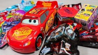 HUGE Sphero Ultimate Lightning McQueen Surprise Cars Blind Bags Eggs Toys for Boys Kinder Playtime