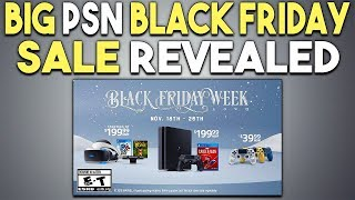 Big PSN Black Friday Sale Revealed - It's Starting Soon!