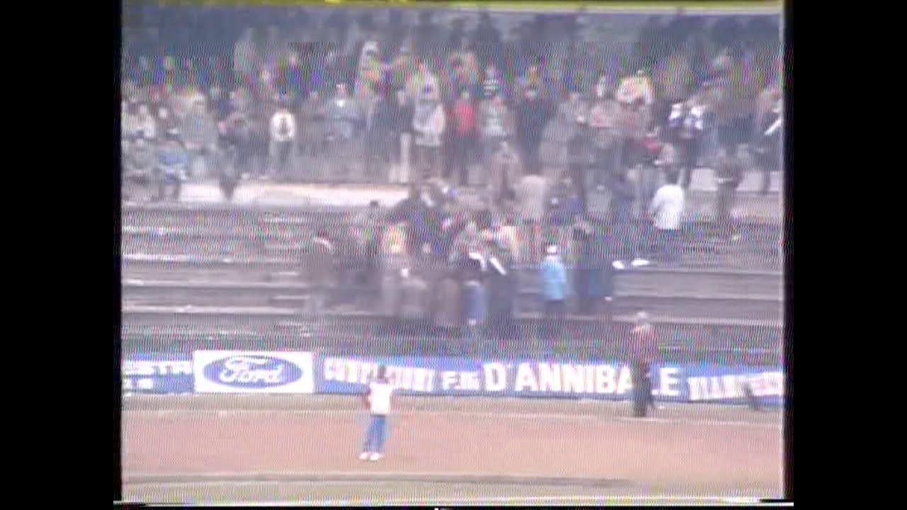 Ternana amarcord 1982-83 Serie C1 - Sintesi partita con la Paganese al Liberati -audio originale-