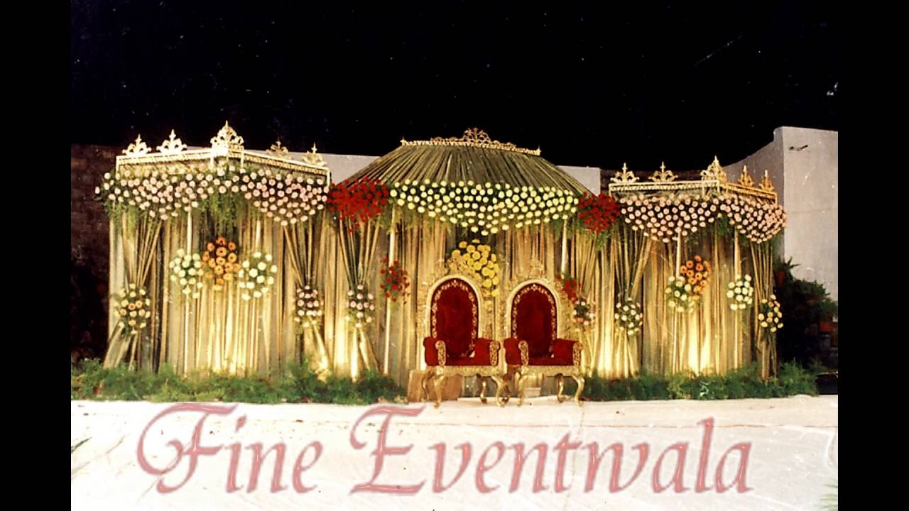 Wedding Stage Decoration Photos Wedding Planners Pune