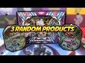 default - Pokemon Random Booster Cards, Pack of 3