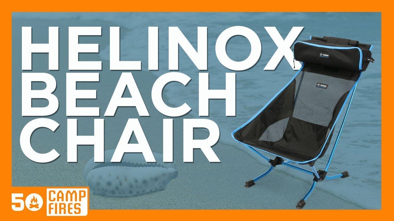 50 Campfires  Big Agnes Helinox Beach Chair  YouTube