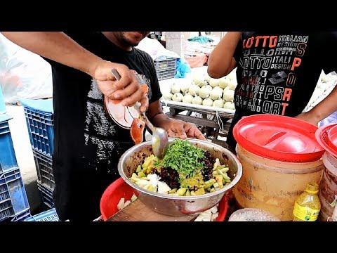 FRUIT NINJA of Fruits Amazing Fruits Vorta Making Skills Young Man Hard Working Selling Masala Food