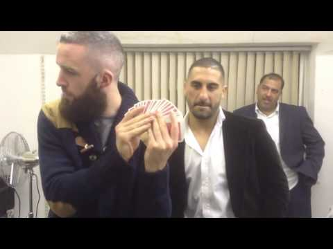 Amazing Card Trick w/ Khalid Ismail UCMMA Welterweight Champ